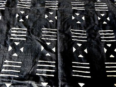 African mudCloth /Throw / Home decor from Burkina Faso, West Africa