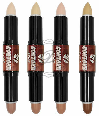 W7 Contour Stick - Choose From 4 Definition Bronzer Highlighter Shape Face