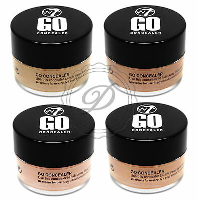 W7 Go Concealer - Cover Blemish Spot Foundation Hide Natural Redness