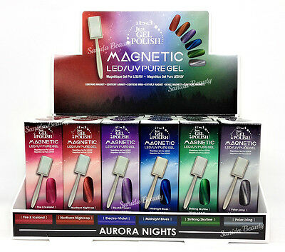 IBD Just Gel Polish - AURORA MAGNETIC + FREE MAGNET .5oz/14ML - Pick any color