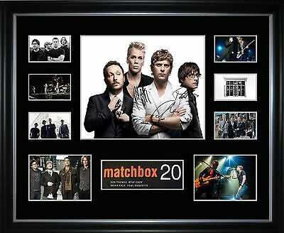 Matchbox Twenty Limited Edition Framed Memorabilia
