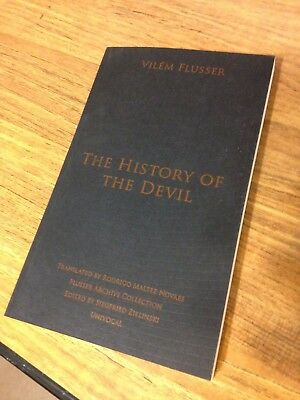 The History of the Devil by Vilem Flusser Paperback Book (English)