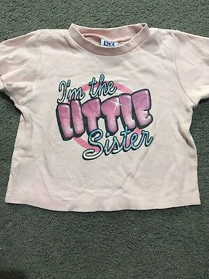 Baby Girls Short Sleeve Top Size 0 GUC