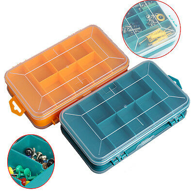 Tool Box Transparent Double-Side Multifunctional Storage Tool Case Plastic Case