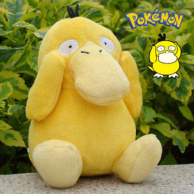 "6"" High Pokemon Psyduck Soft Plush Stuffed Doll Figure Kids Toy Japan Anime"