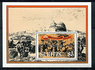 St Kitts 1982 The 200th Anniv of Brimstone Hill Siege  MS opt Specimen MNH