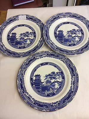 """Ringtons Willow 10.5"""" Plate X 3"""