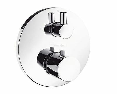 Hansgrohe Ecostat S Thermostatbatterie mit Ab-/Umstellventil chrom 15721000