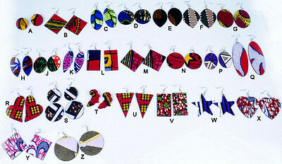 African Ankara fabric Massai Timbucktu Serengeti Egypt Elima Iman Olumo earrings