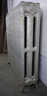 Antique Vintage American Radiator Rococo Hot Water or Steam Radiator 14-Fin R5