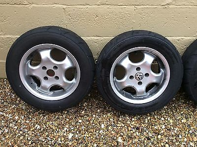 "14"" alloy wheels and tyres 4x100"