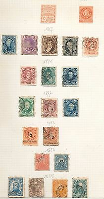Argentina 1850s/1940s M&U Collection (Approx 200+Items) (Au7402)