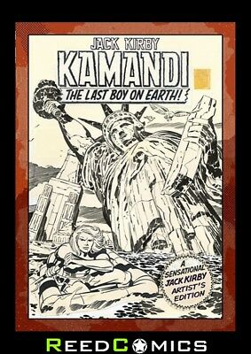 JACK KIRBY KAMANDI VOLUME 1 ARTIST EDITION HARDCOVER New Boxed Sealed Hardback
