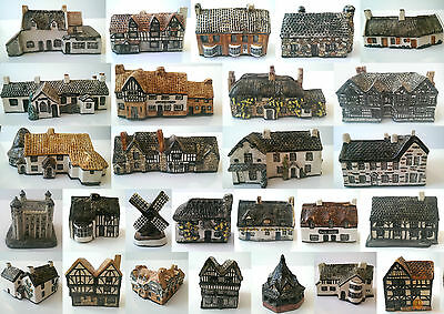 Tey Pottery Britain In Miniature Choice of 35 Cottages Including Rare Items