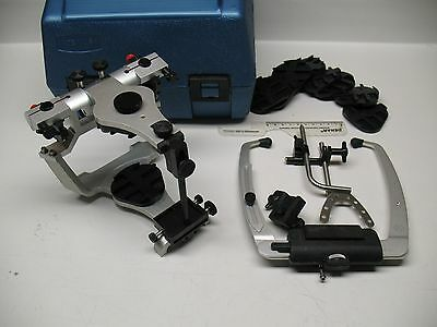Denar Track I I Semi Adjustable Dental Articulator  With Slidematic Facebow