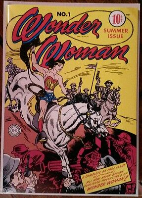 Wonder woman 1 Masterpiece ,Exact Reprint of the Golden Age Grail! Stunning!