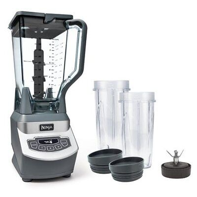 Ninja Professional Blender with Single Serve, BL660 W