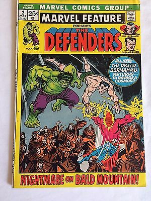 Marvel Feature #2 Vf 8.0 2Nd Appearance Of The Defenders