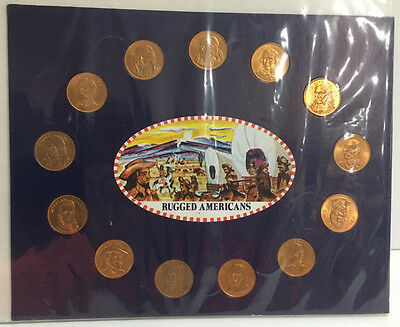 Rugged American Commemorative Coin Collection by Husky Oil