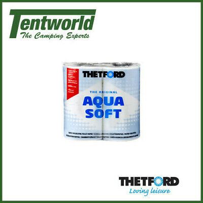 Thetford Aquasoft Toilet Paper Rolls - 4 Pack