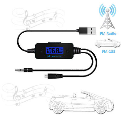 FM185 35mm Audio Interface Bluetooth FM Transmitters for Mobile Phone