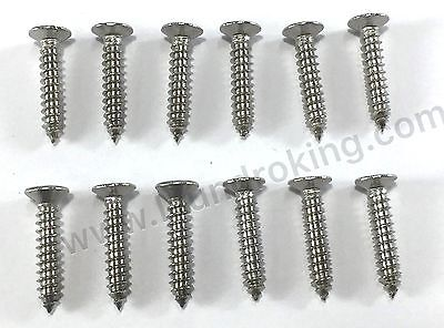 9545-008-012 (12) Pieces Stainless Steel Soap Box Screw