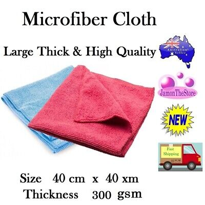 Microfibre Cloth Multi Purpose Microfiber Premium Thick 400gsm Large 40x40cm