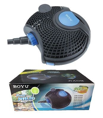 Boyu eco pump for koi ponds ALL SIZES AND FREE DELIVERY