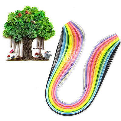 3 mm Width 160 Stripes Quilling Paper Multicolor For Origami Paper Craft DIY Toy