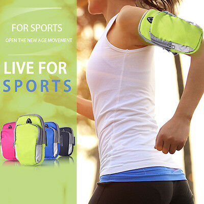 Waterproof Sports Jogging Running Armband Arm Bag Holder Pouch For Mobile Phone