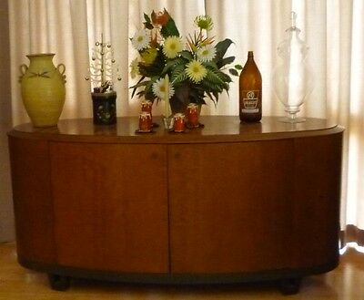 Retro, art deco, ex hotel, credenza, sideboard, bar
