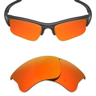 cd3bb6dc2f5 Mryok Replacement Lenses for-Oakley Flak Jacket XLJ Sunglass Fire Polarized