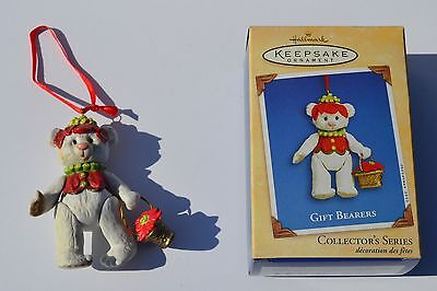 HALLMARK 2002 Gift Bearers Keepsake Ornament Collectible Fourth of Series