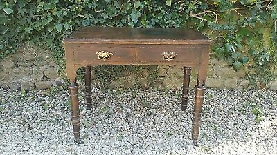 victorian type writing desk or side or sofa table