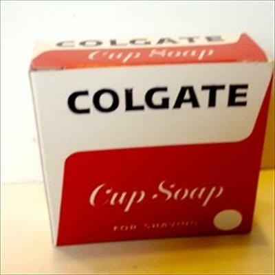 Colgate Cup Soap For Shaving  Box Full With Soap