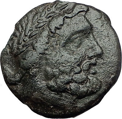 ODESSOS in THRACE 270BC Great God Derzelas on Horse Ancient Greek Coin i60762