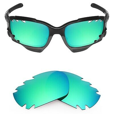 830cb8ccc6f Mryok Replacement Lenses for-Oakley Jawbone Vented Sunglass Emerald  Polarized