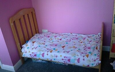 mamas & papas eloise cot/bed +obaby mattress