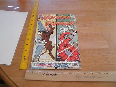 Wonder Woman 147 comic VG- Silver Age 1960's Bird-girl Fish-girl mermaid