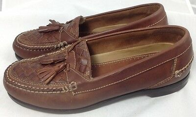 Johnston & Murphy Brown Leather Shoes Men's US Size 12