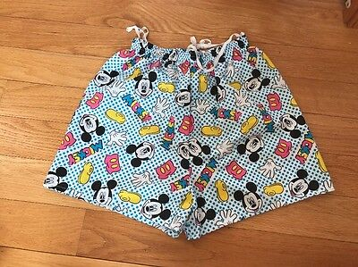 Vintage 90s Mickey Mouse Shorts, Size Small Women's Made In USA