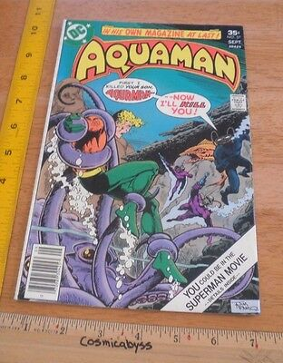 Aquaman 57 comic F+ 1970's Black Manta Jim Aparo art
