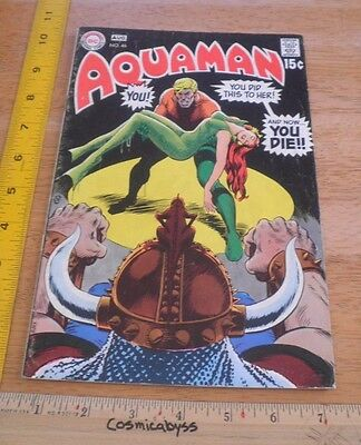 Aquaman 46 comic VG 1960's Mera