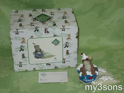 Enesco ~ Charming Tails ~ It's My Pierogi-tive to Love You ~ 2011 ~ Pierogi Fest