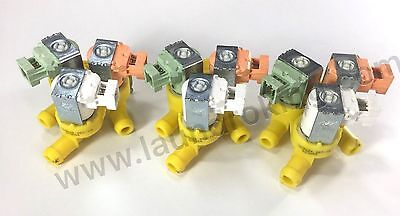 823654 (3) Pieces Oem 3 Way 110V Water Valve For Wascomat Washers