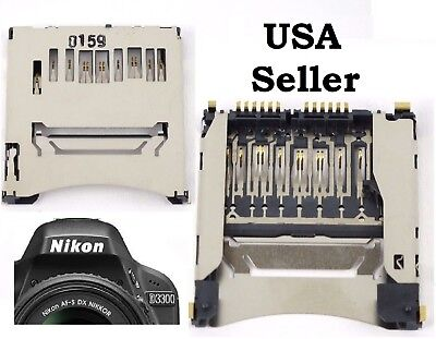 New SD Memory Card Slot Holder For Canon EOS 70D Nikon D750 1200D D810 D3300