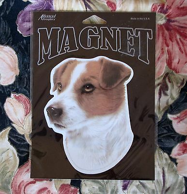 Jack Russell Dog Animal Decal Magnet New Sealed