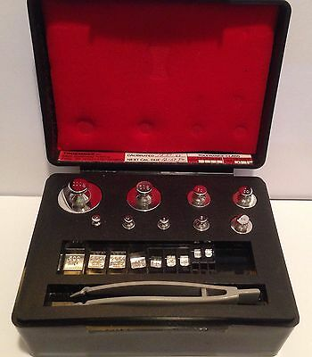 Troemner Scale Balance Set Stainless Steel