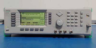 Anritsu 68369B-2B-11 10MHz-40GHz Synthesized Sweep Signal Generator Tested