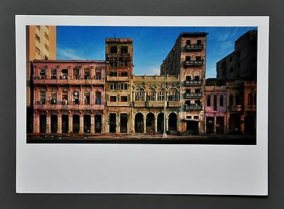 Robert Polidori Ltd. Ed. Photo 17x24cm Hausfassaden in Malécon Havanna Kuba Cuba